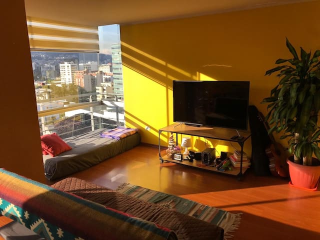 COOL ROOM IN QUITO WITH TWO EASYGOING ROOMIES!