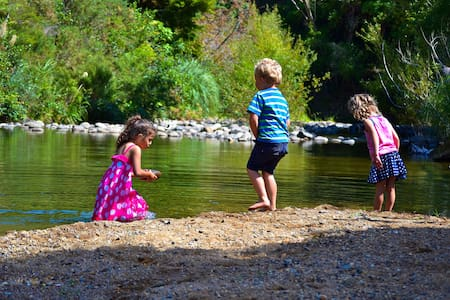 Riverside Cabins - Te Mata Lodge