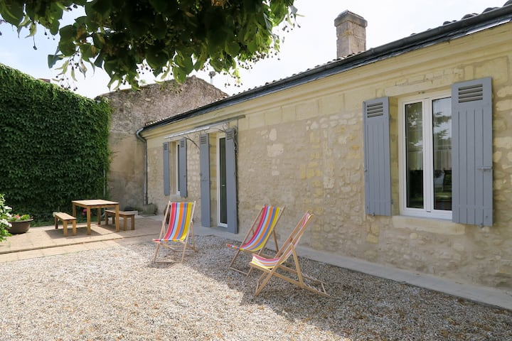 La maison de Fleurette proche de Bordeaux