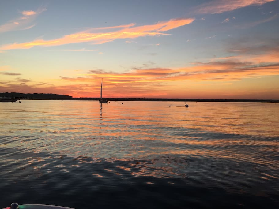 Another beautiful sunset on Northport Bay