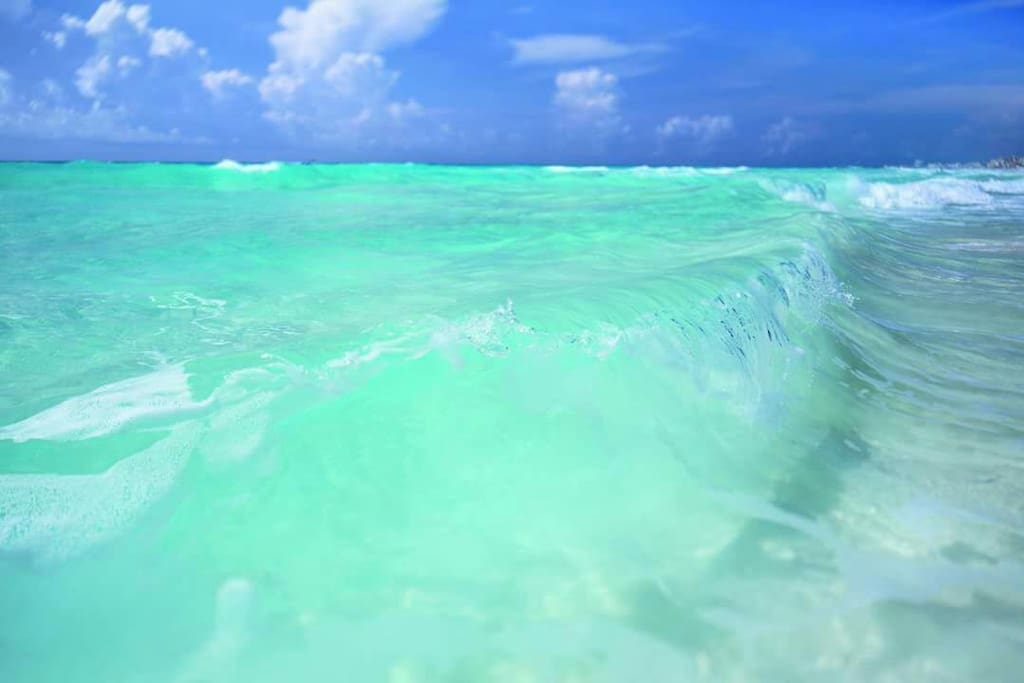 Playa Marlin, our amazing beach.
