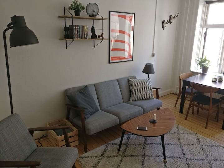 Bright apartment in Nørrebro