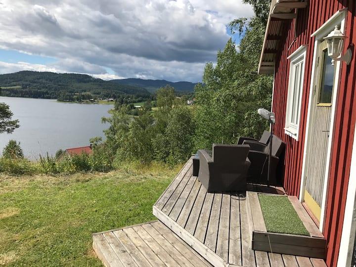 Cabin in Nordingrå overlooking Vågsfjärden