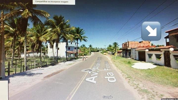 Casa de praia mobiliada p/ temporadas - Guaibim BA