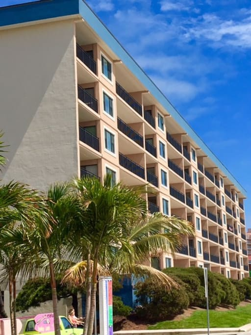 Building Located Directly on the Ocean and on Ocean City's Famous Boardwalk!