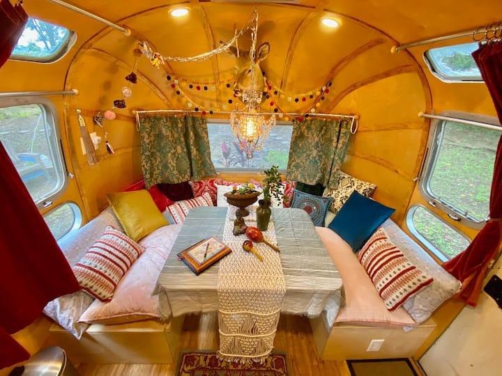Diamond Oaks Glam Camp--The Orient Express