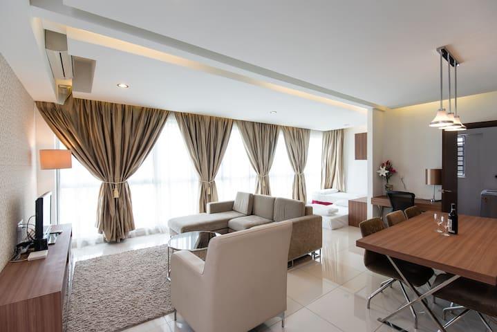 Luxury Condotel + Sky Pool + Shopping Mall + WiFi - Kuala Lumpur - Service appartement