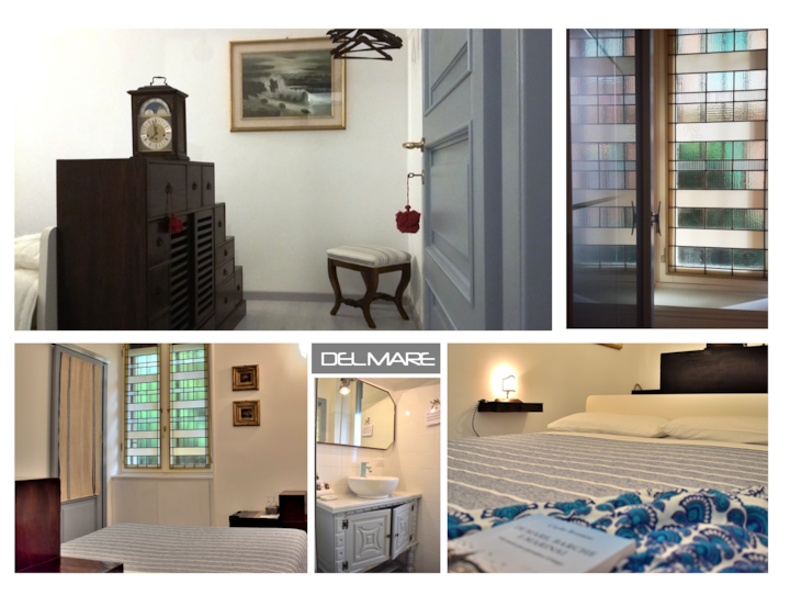 "RM 3 ""Del Mare"": En-suite DBL in charming B&B"