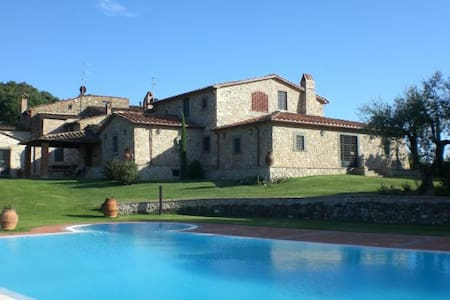 Luxury villa with private garden and pool - Monsummano Terme