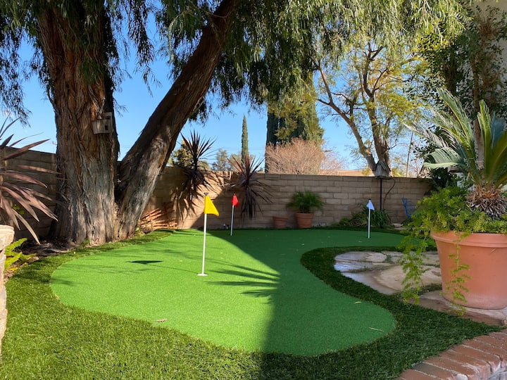Exclusive Home with Private Golf Package Available