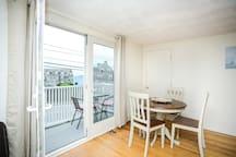 Dining Area/Balcony