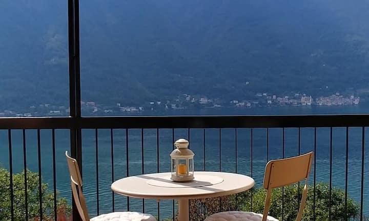 Lago di Como - Nesso - Stupenda vista lago