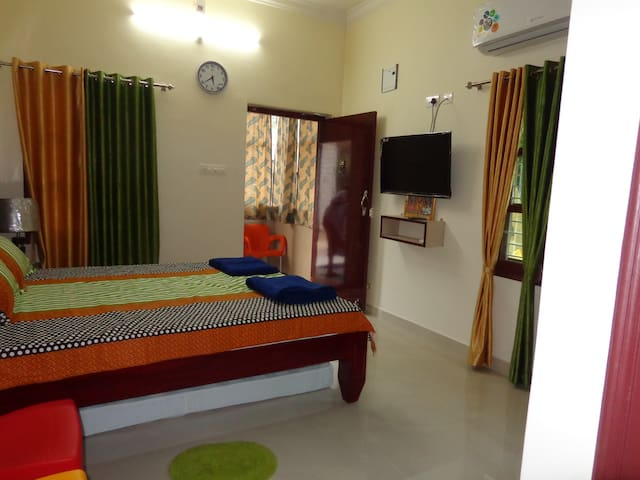 Modern,Authentic Room(2)in Lap of Nature(Chittoor)