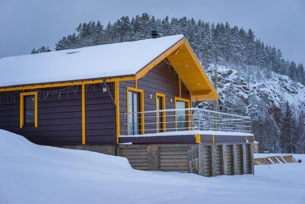 фасад (зима)