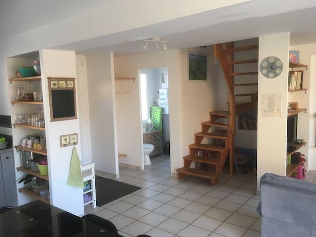 Maison en montagne bourbonnaise - Le Mayet-de-Montagne - Casa