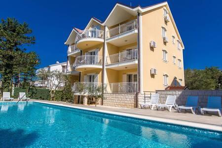Apartments Ljiljana / One bedrooms A6 - Jadranovo - アパート