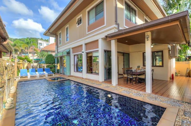 Patong Beautiful private pool villa great location