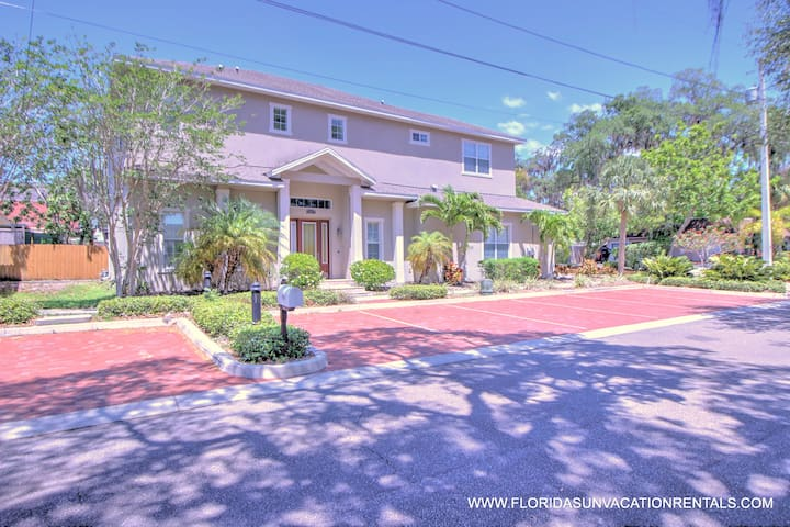 DOWNTOWN SAFETY HARBOR 4 BED 3.5 BATH POOL HOME - Safety Harbor - House