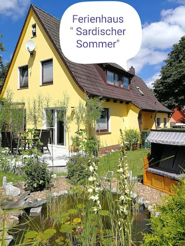 Ferienhaus am See bei Cuxhaven,9 Pers.+ Hund