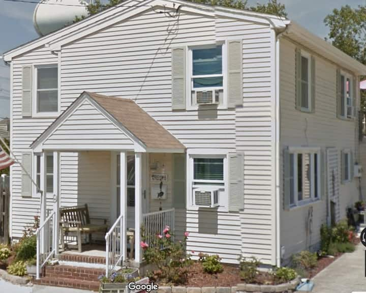 3 bedroom 1st floor duplex steps from the beach