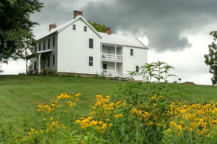 Fox Haven Organic Farm's Spring House