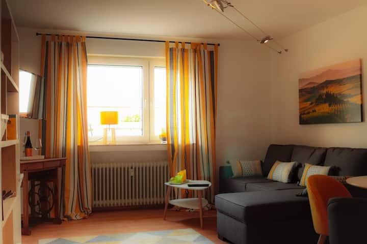 Moderne Wohnung am idyllischen Streuobstwiesenweg