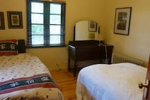2nd bedroom with heritage features