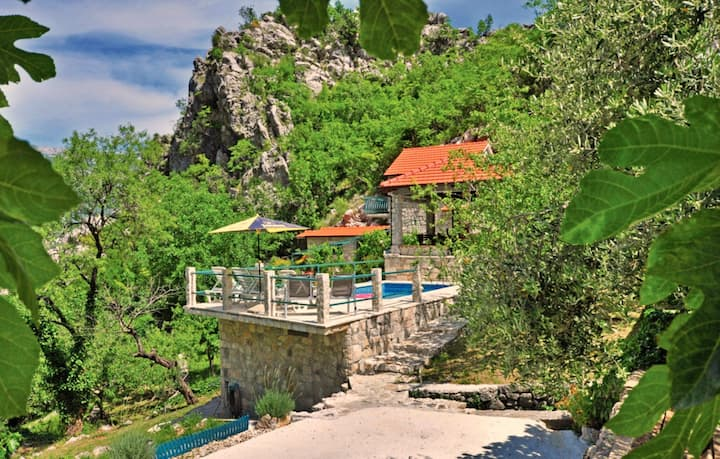 Holiday Home with a Private Pool Omis