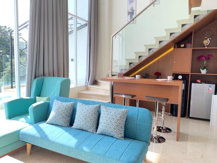 Royal Luxurious Art Deco SOHO with Jacuzzi @BDG