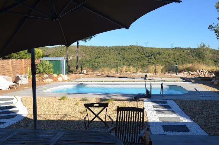 Chambre(s) à Marseille. Accès piscine privée.