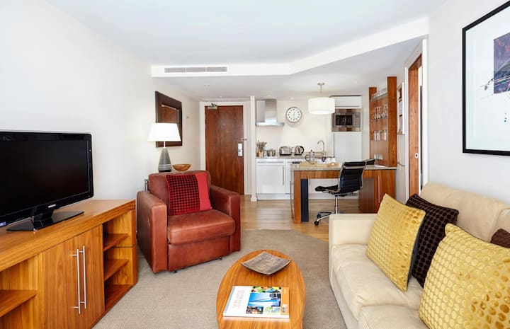 Essential and Business Travel Only: First Class Suite Double Bed One Bedroom  At Newcastle