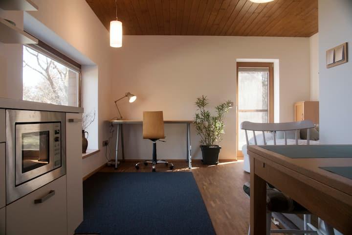 Útulný apartmán pro práci i odpočinek