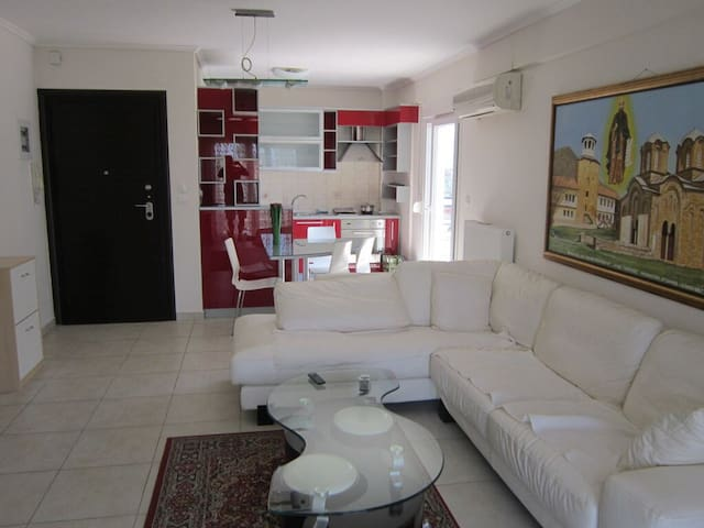 Luxury flat in Thessaloniky - Evosmos - Apartamento