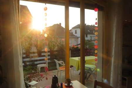 Holiday near Heidelberg in big sharing appartment - Schriesheim - Daire