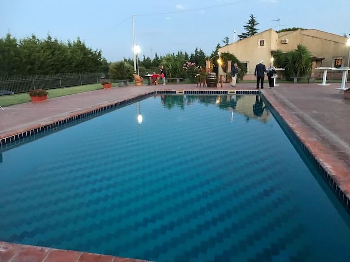 Studio in Grammichele, with shared pool and WiFi - 50 km from the beach