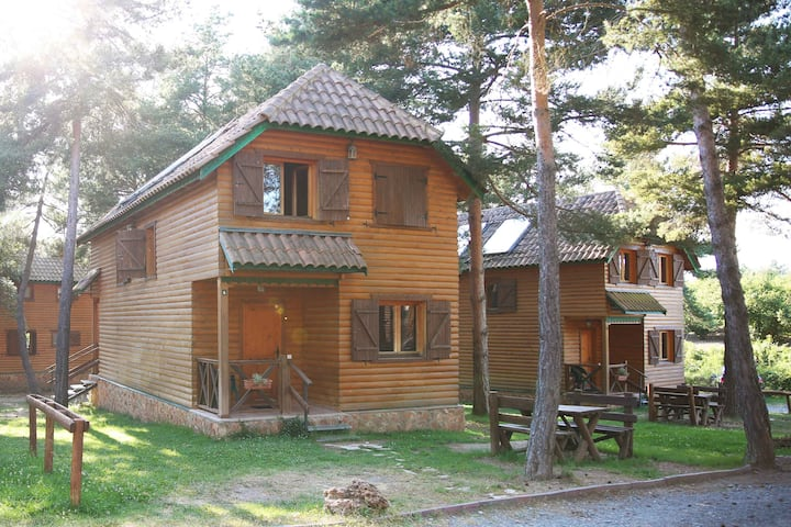 Casa de madera 1: pura naturaleza en el Montsant