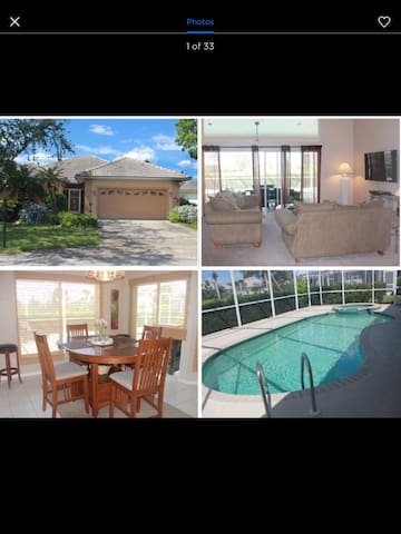 Relaxing, Comfy Pool Home in Naples!