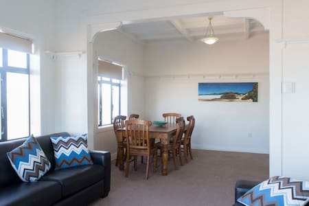 Beach Front 3 bedroom Apartment at St Clair