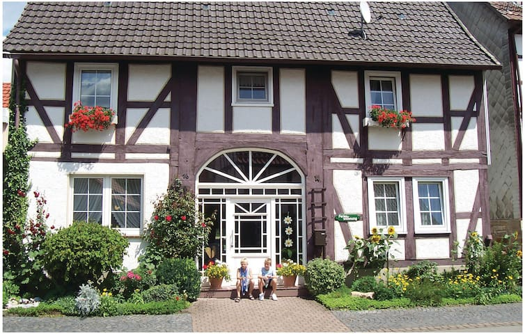 Holiday apartment with 3 bedrooms on 100m² in Oberweser/Gieselwerder