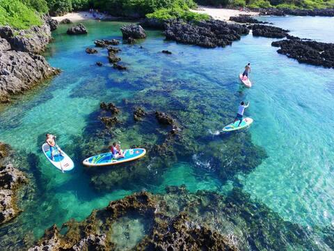 垦丁SUP立桨运动俱乐部-帶您走进简单溫馨的家庭一背包客房