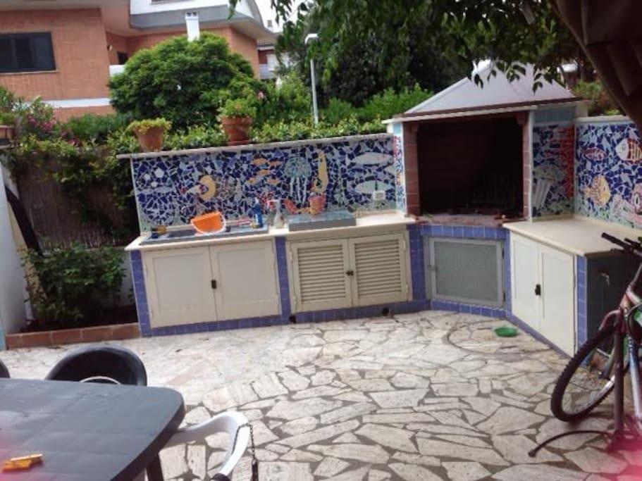 Casa Con Giardino Ostia Lido : Casa con giardino a m dal mare houses for rent in