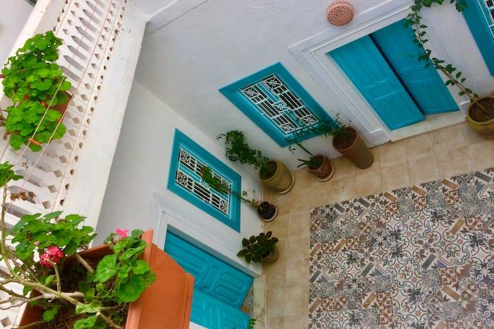 Maison Evelyne au coeur de la Medina...