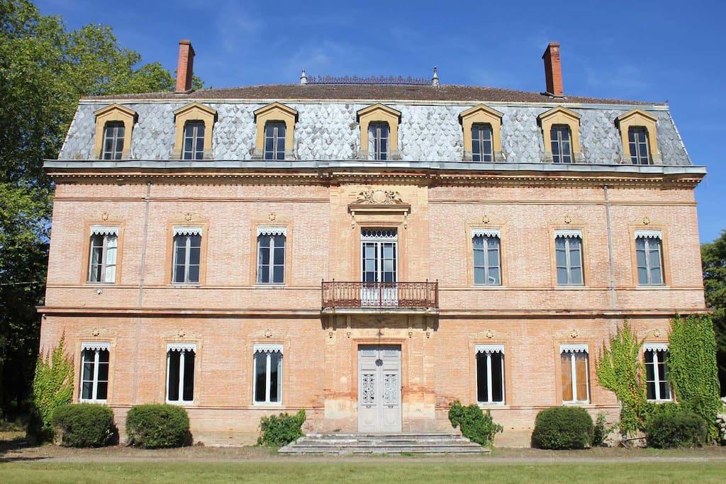 Chateau JAC : Front