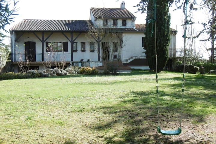 Maison avec piscine proche Toulouse - Quint-Fonsegrives - Casa