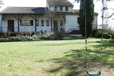 Maison avec piscine proche Toulouse - Quint-Fonsegrives