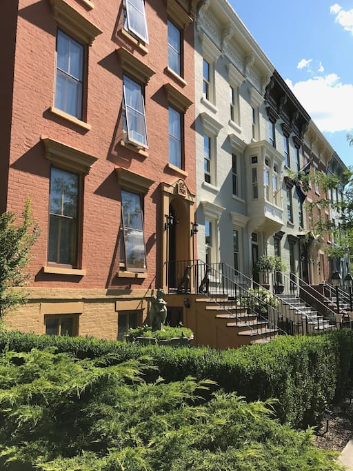 Our home on a pristine block in the heart of Hudson.   Spacious and comfortable in an ideal location.