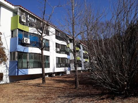 광양제철소 주택단지 *18평 아파트*온돌*