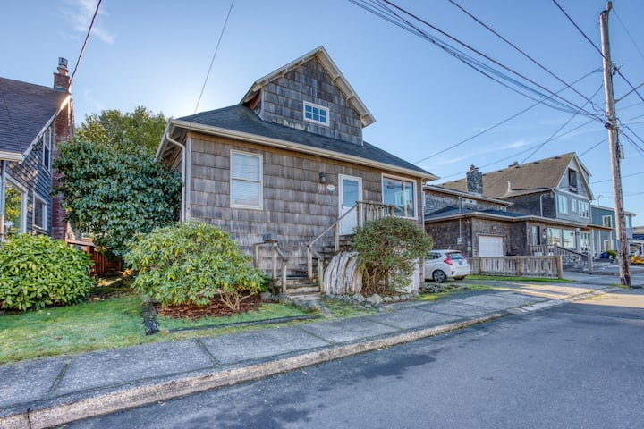 Family-friendly house near the beach with private gas grill and enclosed yard!
