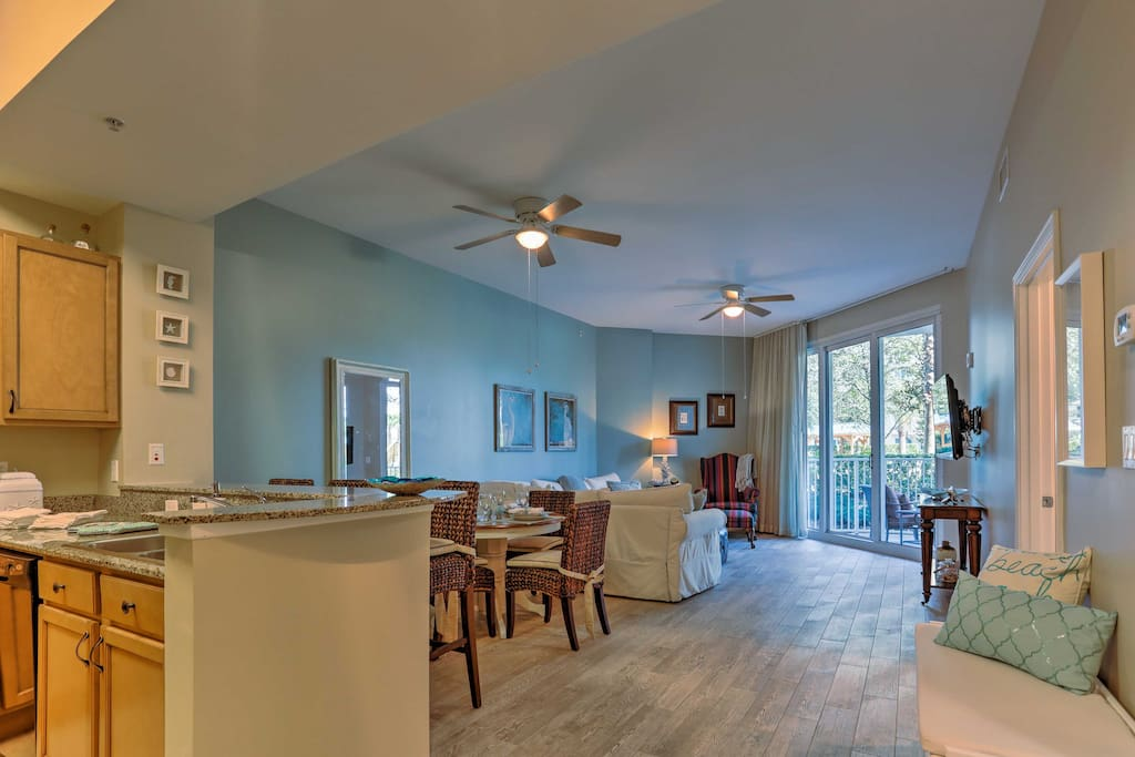 Nearly 1,000 square feet of living space welcomes you home each day!
