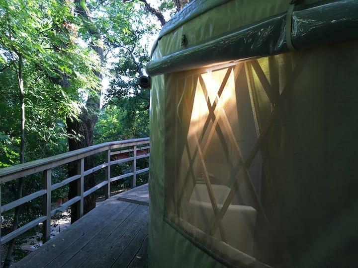 L.stile Glamping Yurt name OLJKA